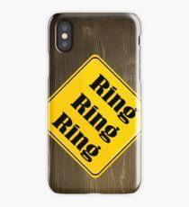 Ring Ring Ring iPhone Case/Skin