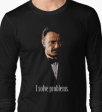 Mr. Wolf. Problem Solver. Long Sleeve T-Shirt