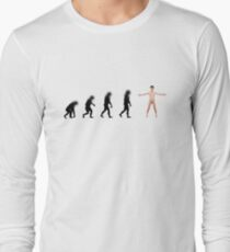 99 Steps of Progress - Facebook Long Sleeve T-Shirt