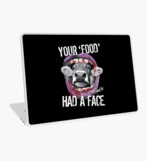 VeganChic ~ Your Food Had A Face Laptop Skin