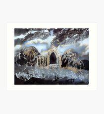 Autumnal Study - Bolton Priory Art Print