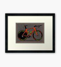 Time Trial Bike Framed Print