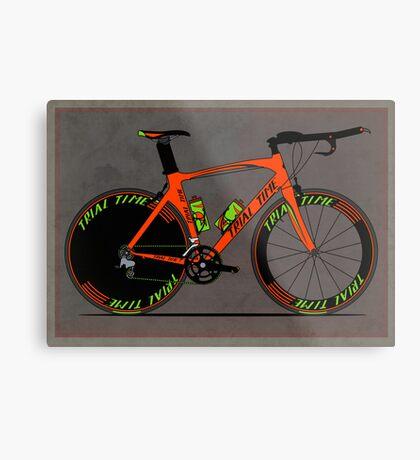 Time Trial Bike Metal Print