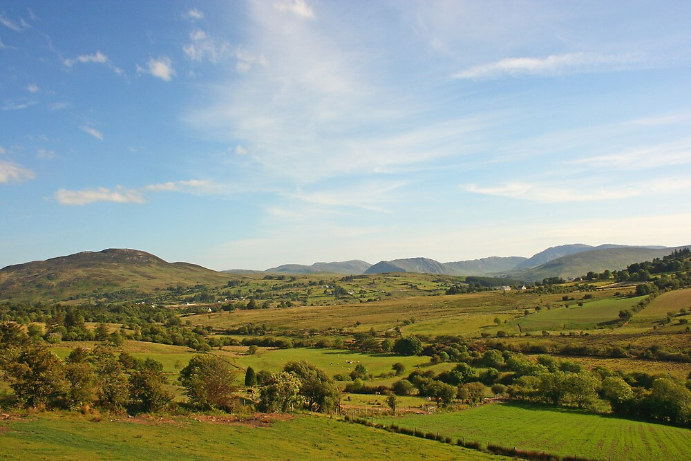 The Bluestack Mountains by Adrian McGlynn