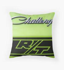 Dodge Challenger R/T Throw Pillow