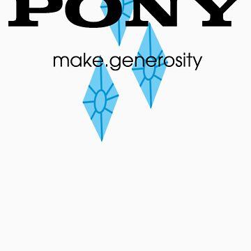Pony make.generosity by SpicyNikorasu