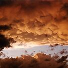 Cloud formations by Peter Brandt