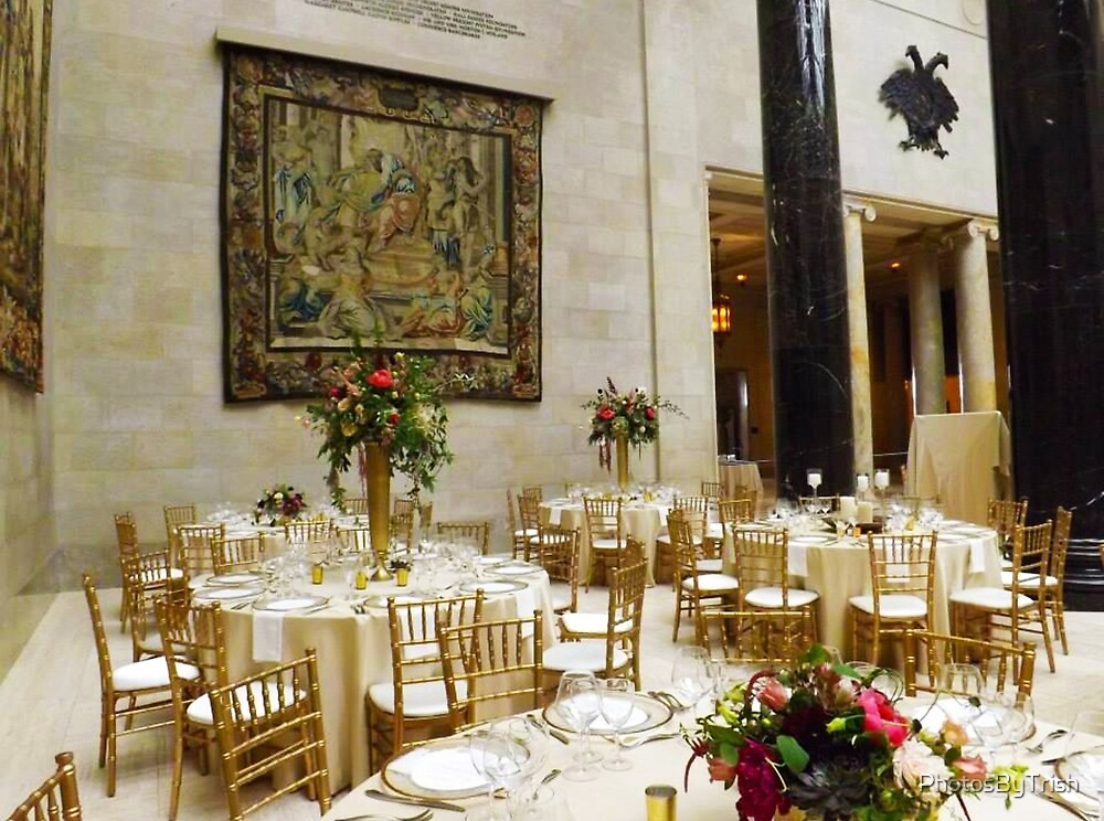 Fine Dining Area of Nelson Atkins Museum by PhotosByTrish