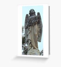 Angel headstone Greeting Card