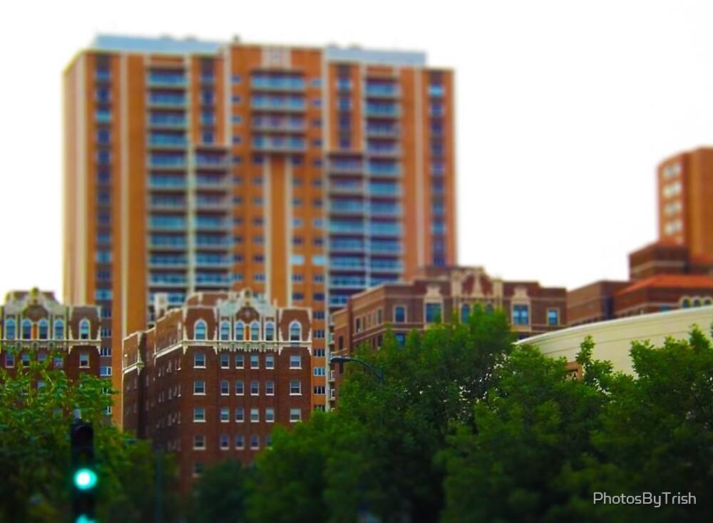 Tall Buildings on Brush Creek Tilt Shift by PhotosByTrish