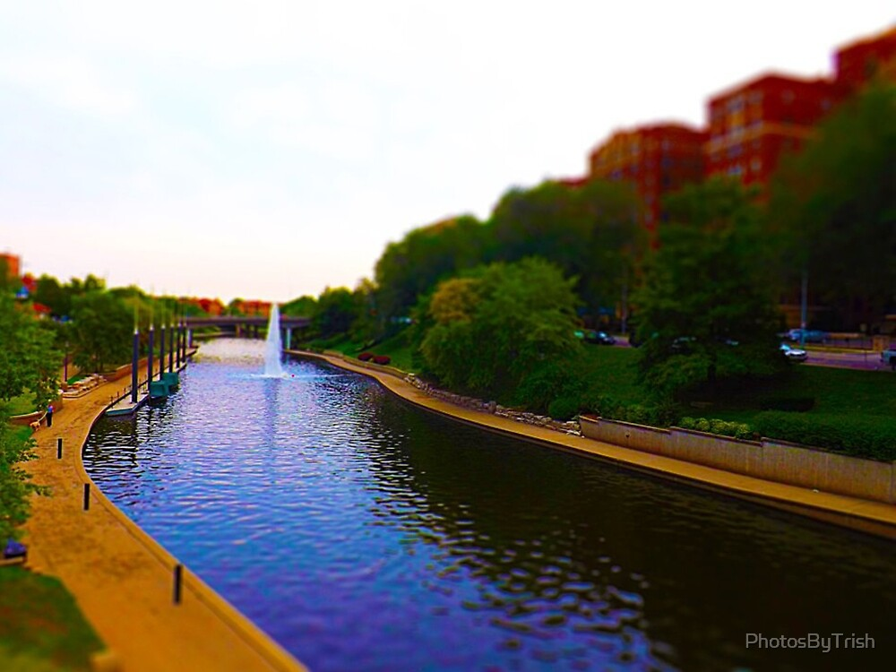 Brush Creek, Kansas City Tilt Shift by PhotosByTrish