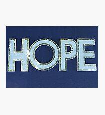MCC Hope Photographic Print