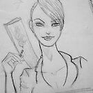 Maret- Rough Sketch by Aubrey Dunn