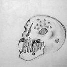 Acid Skull- Sketch by Aubrey Dunn