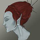 Gretnabella- Portrait by Aubrey Dunn