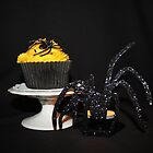 Halloween Cupcake ( Cherry and Almond ) by AnnDixon