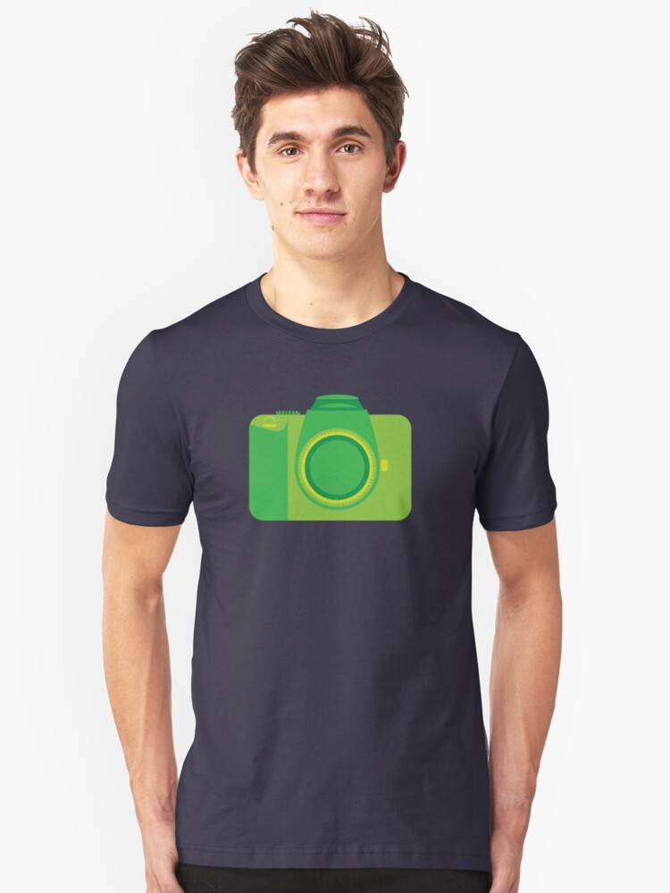 Funky Little Camera Unisex T-Shirt Front