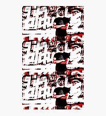 "btdubbs ""GRAFFITI RED"" design Photographic Print"