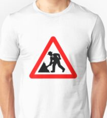 Caution! Men Singin' In The Rain!  Unisex T-Shirt