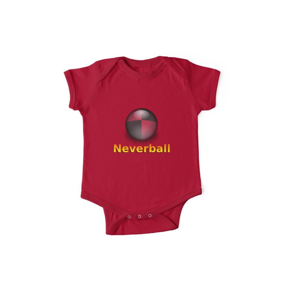 Nevershirt (Transparent Ball) by Josh Bush