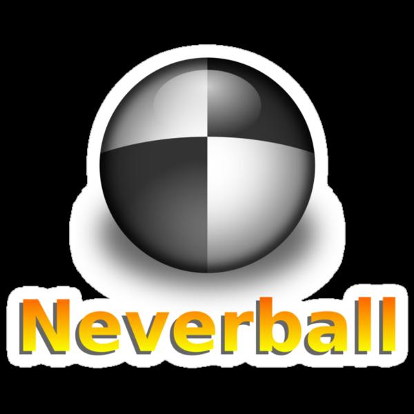 Nevershirt (White Ball) by Josh Bush
