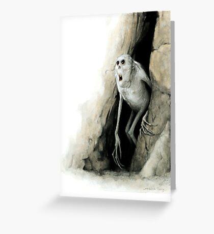 Morlock Greeting Card