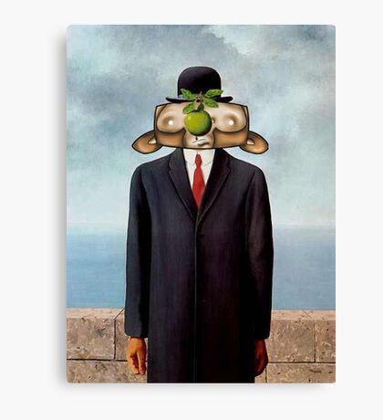 The Son of Monkey Card Canvas Print