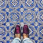 Art Beneath Our Feet, Ancona Italy  by LucySchmidtArt