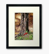 Woodland Fantasy Framed Print
