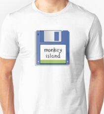 Monkey Island Retro MS-DOS/Commodore Amiga games Unisex T-Shirt