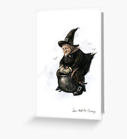 Baba Yaga the Witch Greeting Card