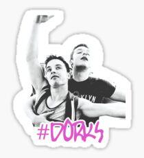 #dorks  Sticker