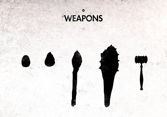 99 Steps of Progress - Weapons by maentis