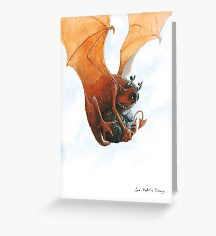Rock and Devil Greeting Card