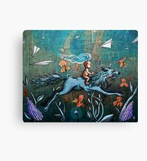 Aspect of Youth Canvas Print