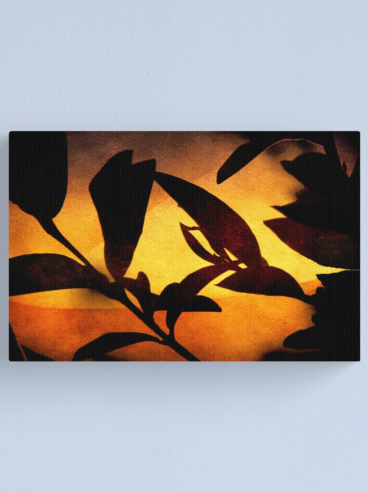 Alternate view of Autumn Abstract Canvas Print