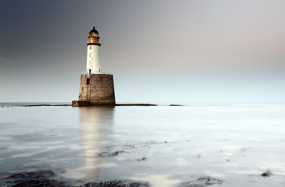 Rattray Head Lighthouse by Grant Glendinning