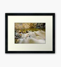 Kamloops Canyon Framed Print