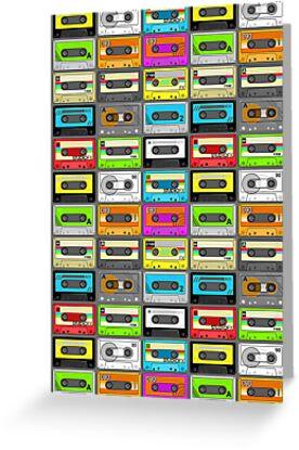 Ghettoblaster/Boombox Ammunition (Retro Cassette Pattern) by Creative Spectator