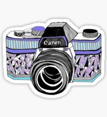 cannon, snap Sticker