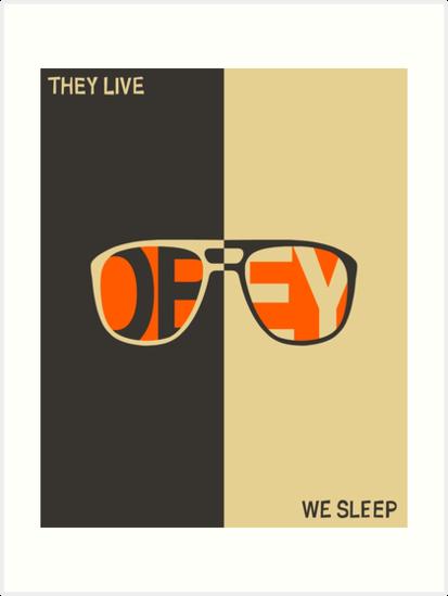 THEY LIVE, WE SLEEP by JazzberryBlue