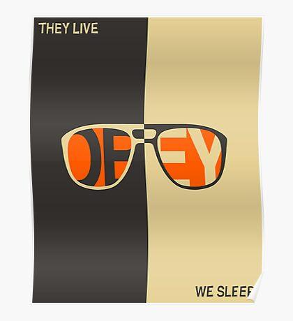 THEY LIVE, WE SLEEP Poster
