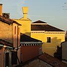 Venice, Italy - Fabulous Rooftops and Chimneys by Georgia Mizuleva