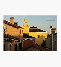 Venice, Italy - Fabulous Rooftops and Chimneys Photographic Print