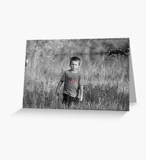 Man on a Mission... Greeting Card