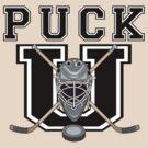"Hockey ""PUCK U"" by SportsT-Shirts"
