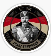 The Archduke Franz Ferdinand Sticker