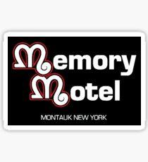 Memory Motel Sticker