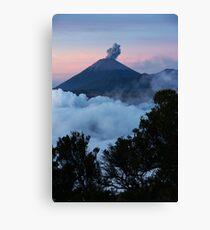 Mt Semeru at dawn. Java. Indonesia. Canvas Print
