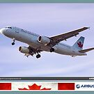 Air Canada Airbus 320 by Trenton Hill